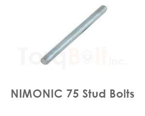 Nimonic 75 Stud Bolts