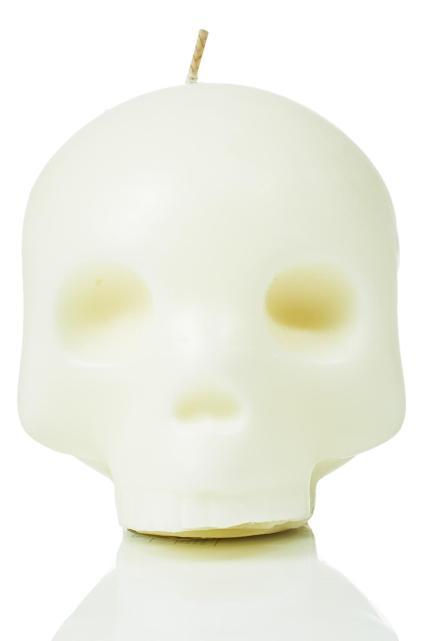 So Dead Emoji Face Candle