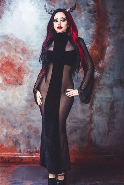 Evil Cross Gown