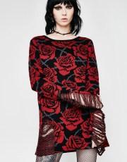Killstar Eden Knit Sweater