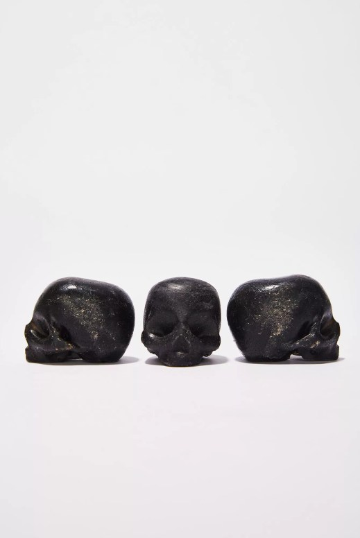 Rebels Refinery Black Activated Charcoal Organic Skull Soap