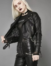 Widow Love In Vein Moto Jacket