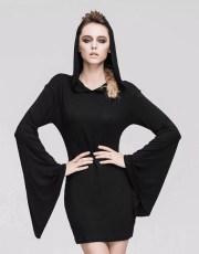 Devil Fashion Summoning Evil Hooded Dress