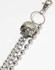 Disturbia Skull Belt Chain