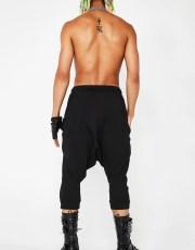 MNML Low Rise Drop Crotch Pants