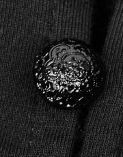Asymmetric Goth Short Top