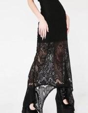 Killstar Deadly Beloved Maxi Dress