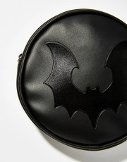 Halloween Black Circle Bat Bag
