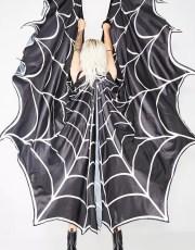 Mami Longlegs Spiderweb Cape