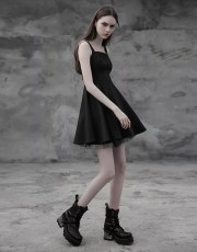 Punk Rave Punk Layered Laced Dress