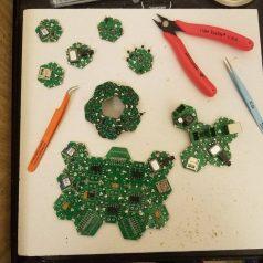 Few Hexabitz arrays of different shapes