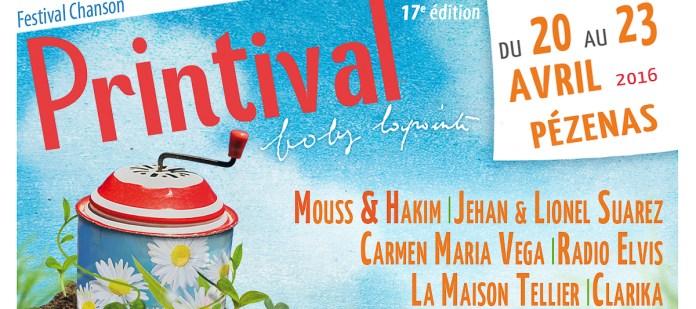 Hé V'nez les Potes ! C'est le Festival Printival du 20 au 23 avril !