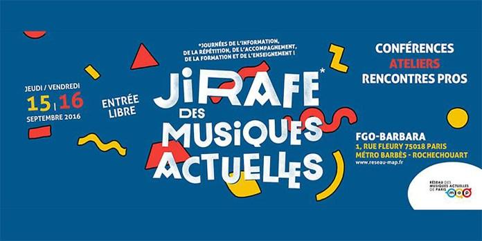 JIRAFE 2016 – 15 et 16 septembre au FGO Barbara à Paris