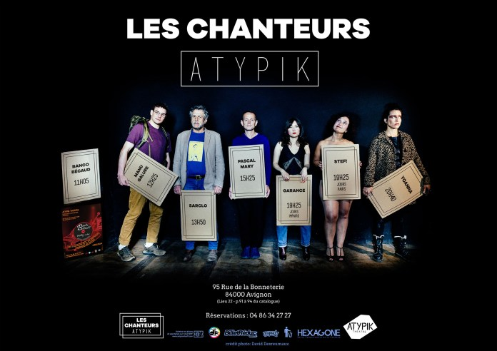 Festival Off d'Avignon : les 2 lieux chanson