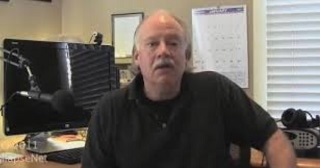 Mike Ruppert at his office circa 2010