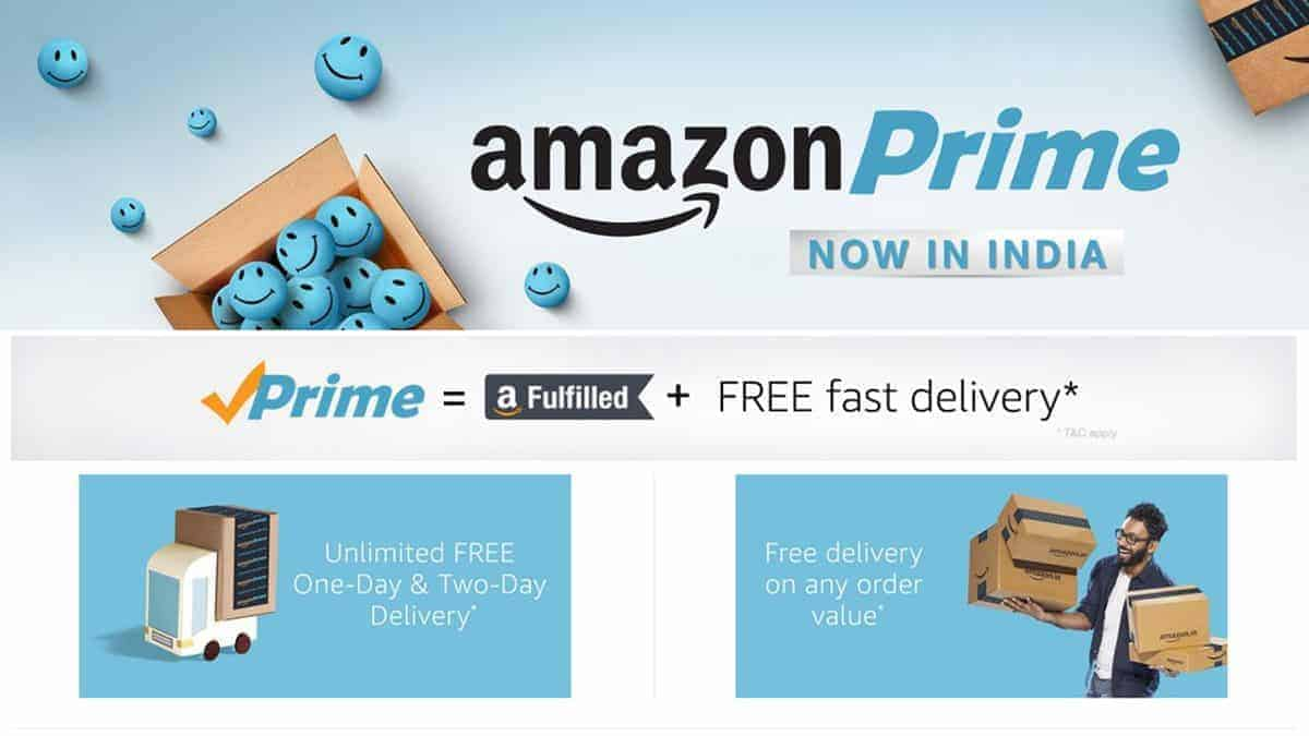 Join Amazon Prime & Get 20% Cashback on add money (Max 300)