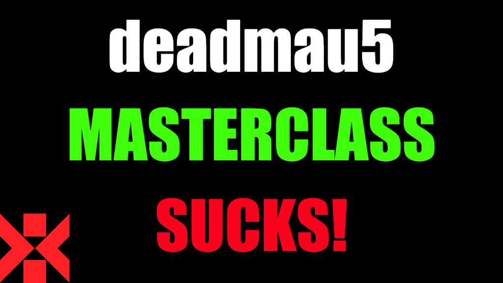 deadmau5 masterclass sucks