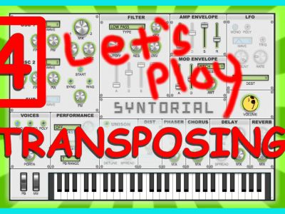 Easy Synth Programming – Transposing