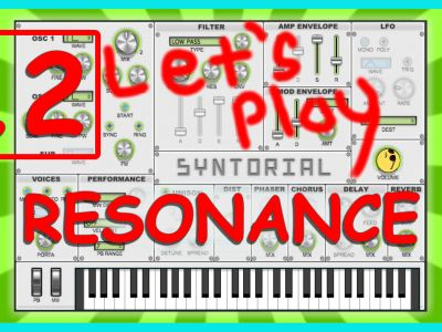 Easy Synth Programming – Resonance