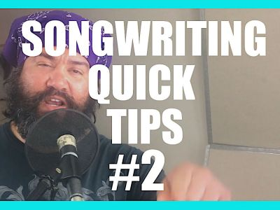 Organize – Song Writing Quick Tips 2