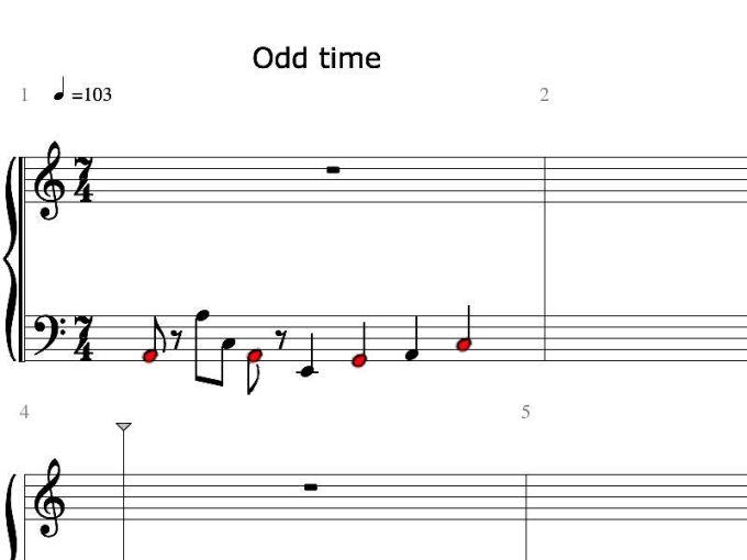 rhythmic subdividing