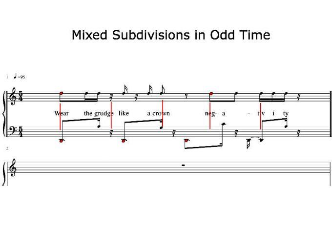 Rhythmic dividing