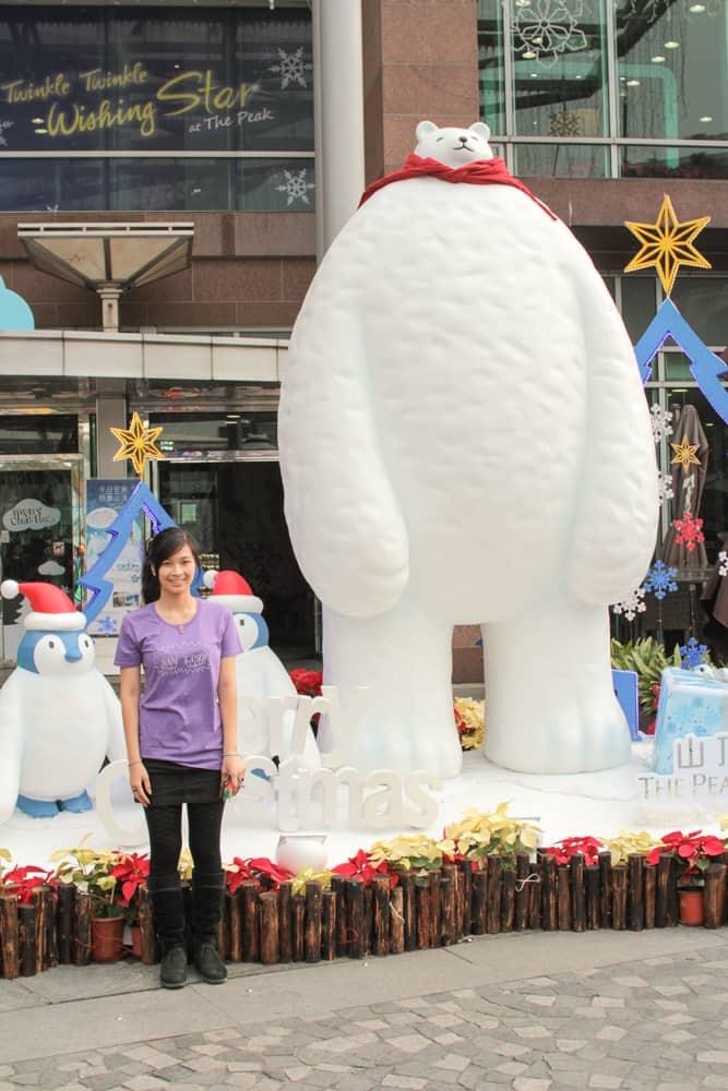 Me with polar bear