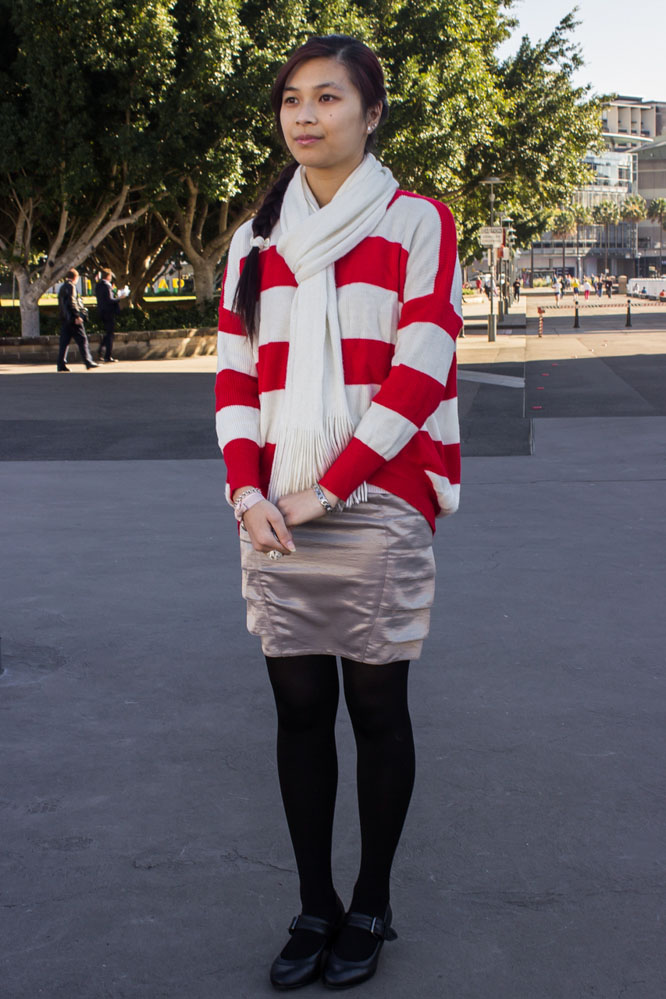 Fashion Friday Red Stripes-1
