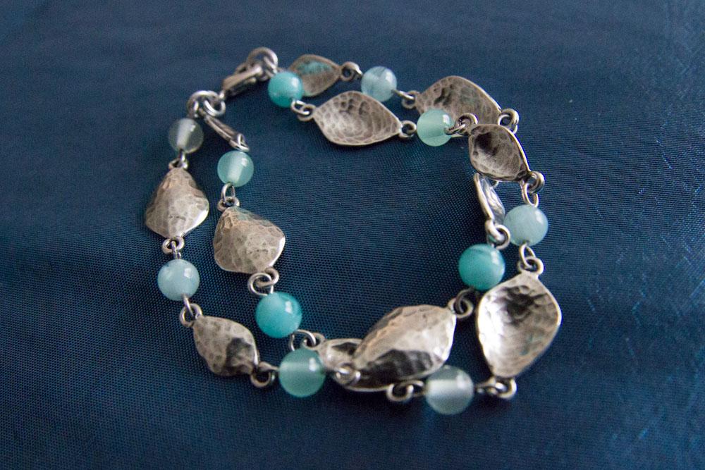 Aqua Alexa Bracelet