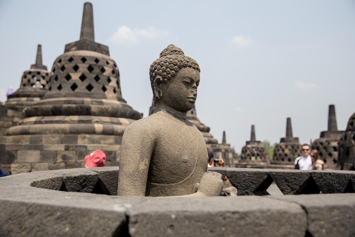 A Buddha uncovered