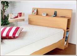代表的なベッドフレームの種類と機能性をご紹介