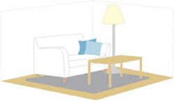 センスの良さをアピール!家具の配色パターン例