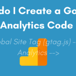 How do I Create a Google Analytics Code