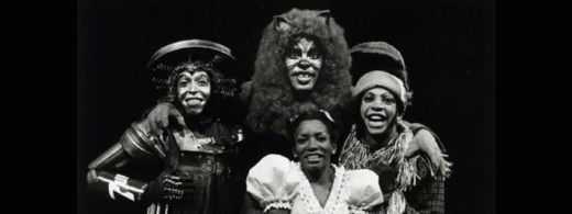 The original Broadway cast of The Wiz, 1975