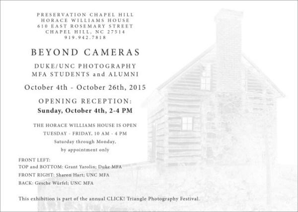 Beyond Cameras postcard back