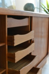 Dyrlund Sideboard with Tambour Doors