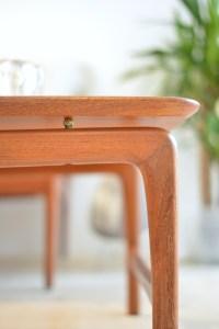 Peter Hvidt and Orla Molgaard Nielsen Solid Teak Coffee Table