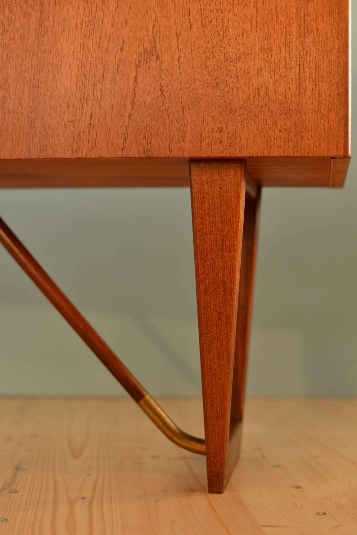 Peter Løvig Nielsen Teak Boomerang Desk