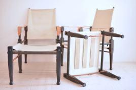 Wilhelm Kienzle Safari Chair and Ottoman Set
