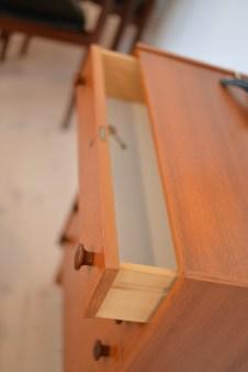 Little Teak 5 Drawer Dresser
