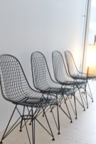Eames DKR Wire Chairs by Ray and Charles Eames