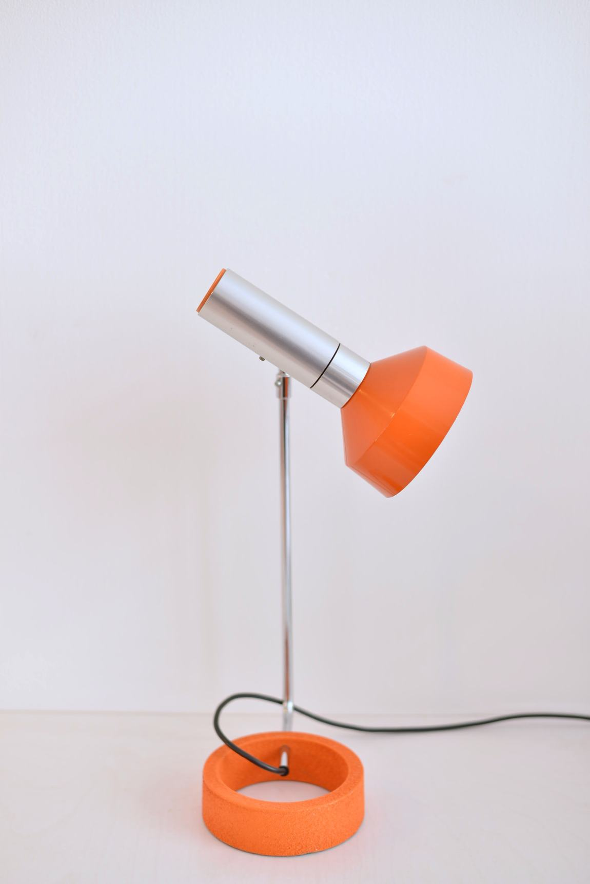 Swiss Desk Lamp by Rico and Rosemarie Baltensweiler 1960