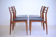 Swissteak Swiss Dining Chair Set heyday möbel moebel Zurich Zürich Binz Vintage Furniture