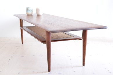 Peter-Hvidt-Orla-Molgaard-Nielsen-France-and Daverkosen Danish Teak Coffee Table heyday möbel moebel Zurich Zürich Binz