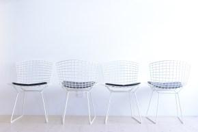 Bertoia Side Chair by Knoll Intl Harry Bertoia heyday möbel moebel Zurich Zürich Binz VintageBertoia Side Chair by Knoll Intl Harry Bertoia heyday möbel moebel Zurich Zürich Binz Vintage