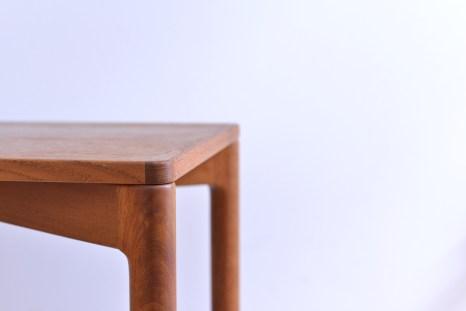 Kurt Ostervig Side Table for Slagelse Moebelvaerk Denmark 1960s Teak heyday moebel Zurich Zuerich Binz