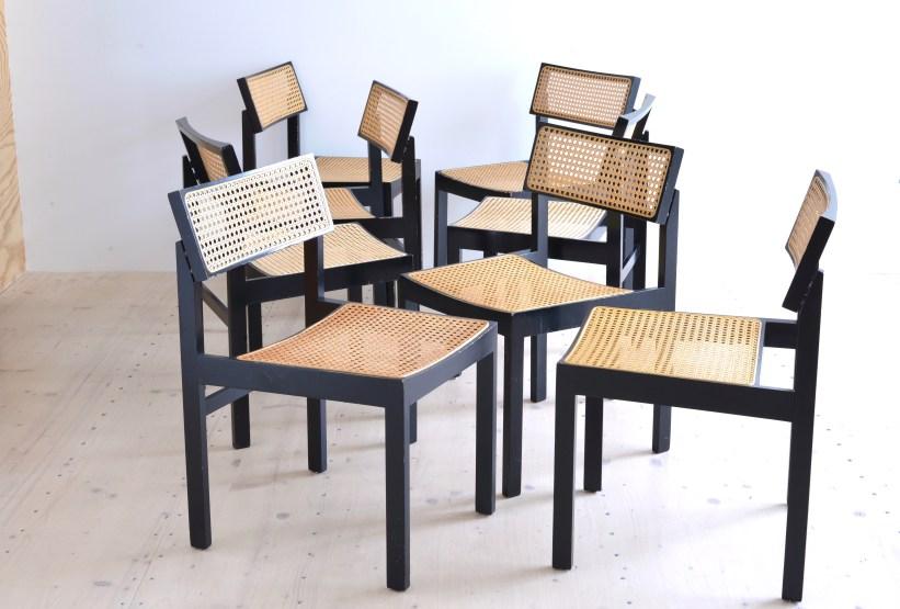 heyday moebel Willy Guhl Guhlstuhl Dining Chair Set Dietiker Switzerland heyday möbel moebel Zürich Zuerich Binz Altstetten