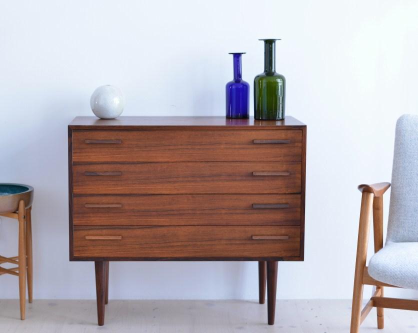 Kai Kristiansen Four Drawer Dresser heyday möbel heydaymoebel Binz Zurich
