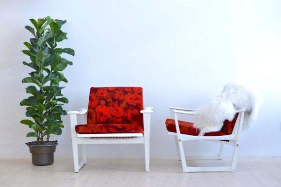 M. Nissen Horsens Denmark White Lounge Chairs Summer heyday möbel heydaymoebel Binz Zürich Zurich