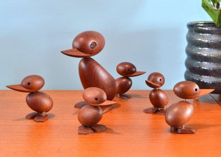 Hans Bolling Duck Family for Torben Orskov & Co